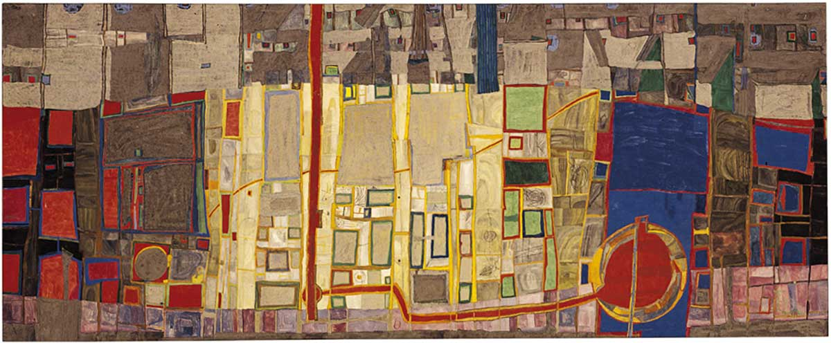 Hundertwasser Artwork - La Cite